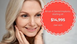 promotion: All-on-4 Dental Implants starting at $14,995 per arch